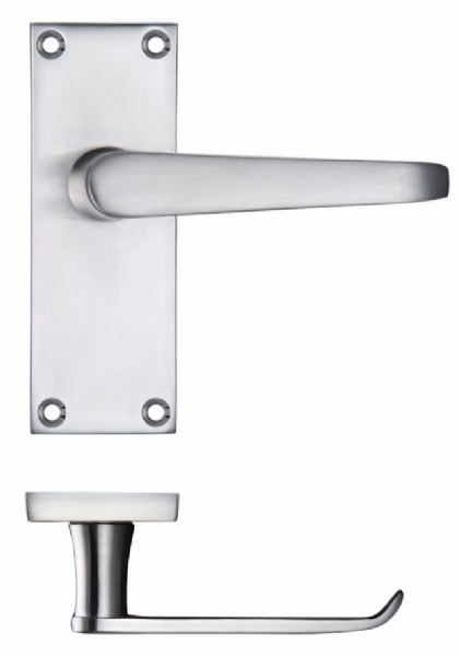 PR042SC - Latch Handle Satin